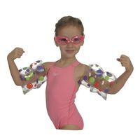 Kids Swimming Pool Arm Bands - Swim Muscles Floaties Armbands Sleeves