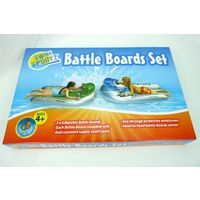 Swim Sportz Battle Boards x 2 Pool Inflatable Floats with Water Gun Squirters