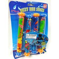 Swim Sportz Dizzy Dive Sticks - Swimming Pool Diving Game Toy