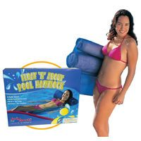 Pool Water Hammock Swim Sportz Float N About Lounger Inflatable Bed Chair