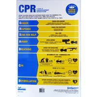 New CPR Sign 2017-2018 updated DRSABCD Swimming Pool Safety Sign - Aussie Gold Resuscitation