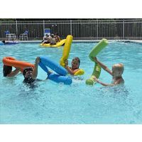 "Pool Noodle Bean Bag 5"" Dia - YELLOW Bean Bag Swimming Pool Deluxe Noodle Shell"