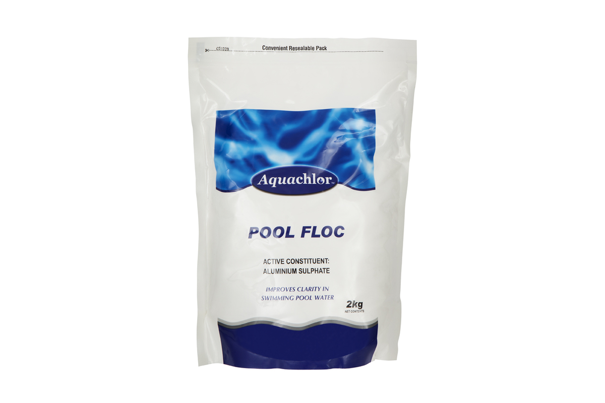 Aquachlor Swimming Pool Floc 2kg - Pool Water Flocculant