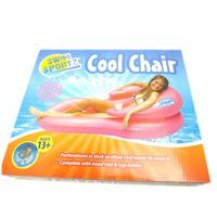 SwimSportz Cool Chair - Swimming Pool lilo Chair Float Toy With Drinks Holder