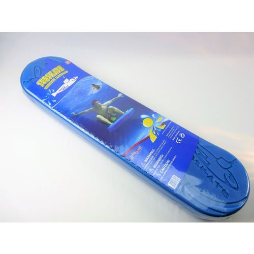 Swim Sportz Subskate Blue-Underwater Skateboard Swimming Pool Toy Game Sub Skate