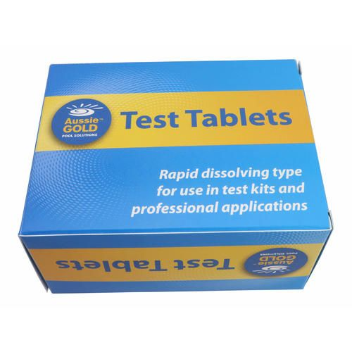 DPD no.1 x 50 Test Tablets Pool & Spa Water Testing Free Chlorine Tablet- DPD1